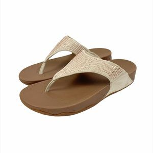 Fitflop Rokkit Suede Toe Thong Sandals